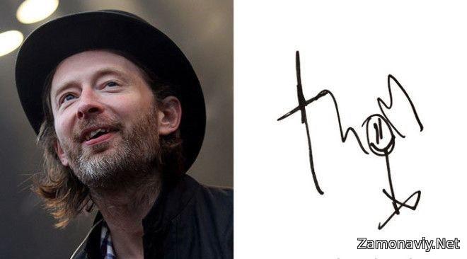Britaniyalik rok musiqachisi Radiohead guruhining vokalchi hamda gitaristi Tom York